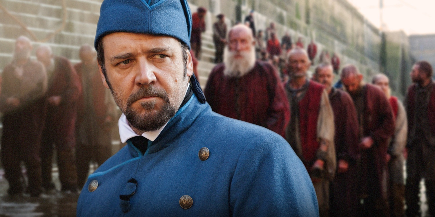 Russell crowe les miserables poster - photo#18