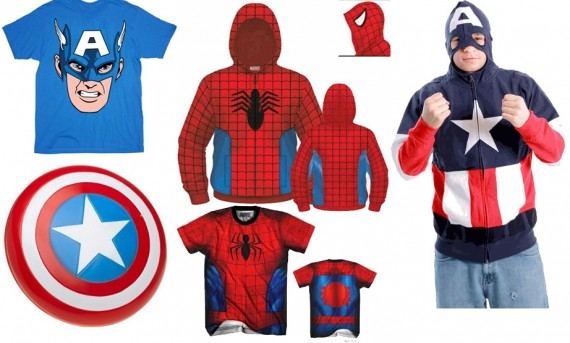SR Giveaway TV Store Online Captain America Spider Man 570x343 SR Giveaway – Win A Captain America and Spider Man Prize Pack! [Updated]