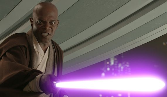 Sam Jackson as Mace Windu in Star Wars 7 Sam Jackson Talks Star Wars 7, Criticizing Critics, & M. Night Shyamalans Ego