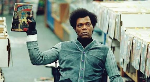Sam Jackson in Unbreakable Sam Jackson Talks Star Wars 7, Criticizing Critics, & M. Night Shyamalans Ego