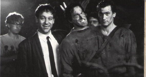 Sam Raimi and Bruce Campbell on Evil Dead Set Evil Dead Sequel Squashed by Sam Raimi and Bruce Campbell in Court