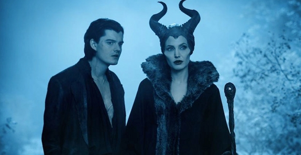 Sam Riley and Angelina Jolie in Maleficent Maleficent Review