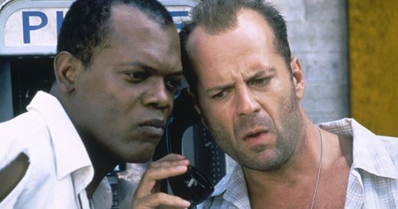 Samuel L. Jackson and Bruce Willis in Die Hard 6 Die Hard 6 Writer Reveals Story Ties to Original Film & Returning Characters