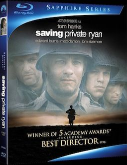 Saving Private Ryan box art 15 Must Own Blu rays of 2010