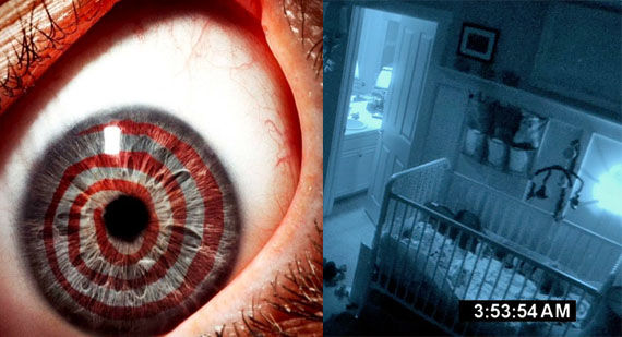 Saw 3D Paranormal Activity 2 release dates Paranormal Activity 2 Scares Off Saw 3D