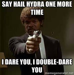 Say Hail Hydra Again SR Geek Picks: Where The Avengers Were in Captain America 2, HYDRA Memes and More