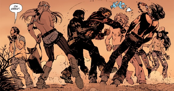 Scalped panel DCs Scalped Comic Book Series Headed to TV