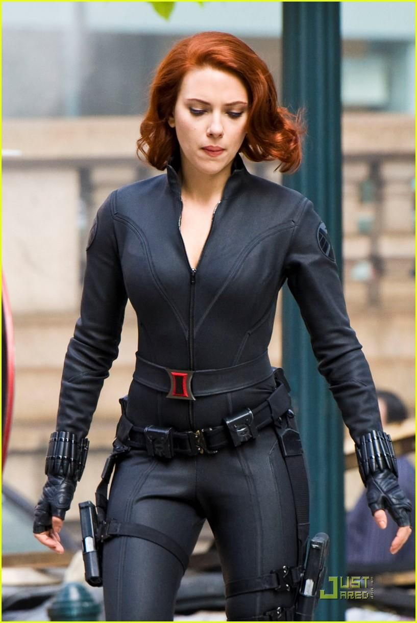 Scarlett Johansson's Black Widow Costume in The Avengers