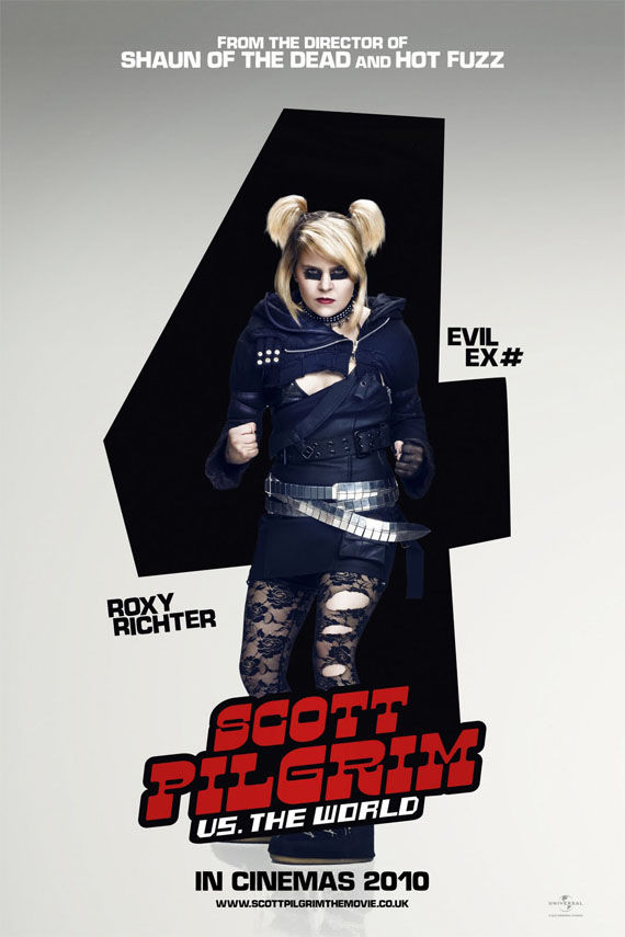 Scott Pilgrim vs the World Evil ex number 4 poster Scott Pilgrim vs the World   Evil ex number 4 poster