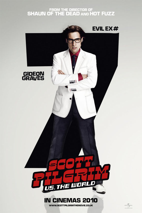 Scott Pilgrim vs the World Evil ex number 7 poster Scott Pilgrim vs the World   Evil ex number 7 poster