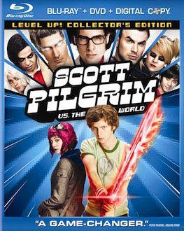 Scott Pilgrim vs. The World DVD Blu ray box art DVD/Blu ray Breakdown: November 9, 2010