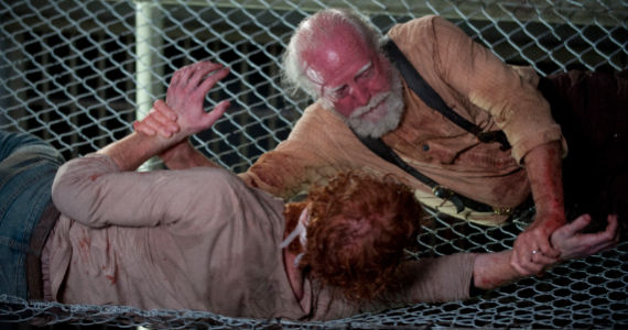 Scott Wilson in The Walking Dead Internment The Walking Dead: Is This the Bleakest Season Yet?