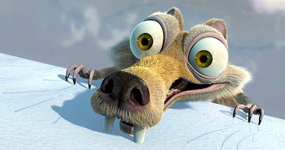 Scrat in Ice Age 4 Ice Age 4: Continental Drift Trailer
