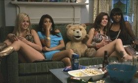 Seth MacFarlane as Ted 2012 280x170 Ted Trailer & Images: Basically Family Guy with a Teddy Bear