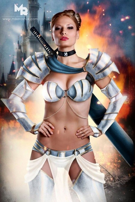Sexy Cinderella 570x855 SR Geek Picks: Pulp Pixar Heroes, Superman vs. Avengers, Disney Princess Cosplay & More
