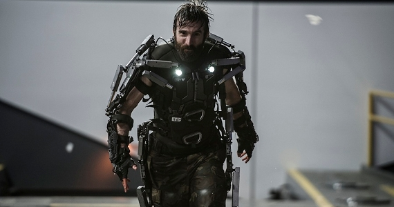 Sharlto Copley as Kruger in Elysium Elysium Review