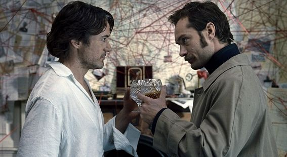 Sherlock Holmes A Game of Shadows Robert Downey Jr. and Jude Law Sherlock Holmes: A Game of Shadows Review