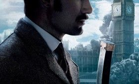 Sherlock Holmes Jude Law Poster 280x170 New Posters: Sherlock Holmes 2, Tower Heist, The Grey, & Texas Chainsaw Massacre