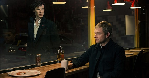 Sherlock Season 3 restaurant promo image Most Anticipated Returning TV Shows of 2014: 24, Orphan Black, Mad Men & More