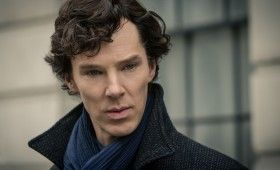 Sherlock season 3 Benedict Cumberbatch 280x170 Sherlock Season 3 Image Gallery Hints at Romance & Conflict