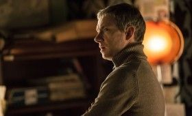 Sherlock season 3 John in jumper 280x170 Sherlock Season 3 Image Gallery Hints at Romance & Conflict