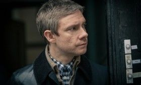 Sherlock season 3 John without mustache 280x170 Sherlock Season 3 Image Gallery Hints at Romance & Conflict
