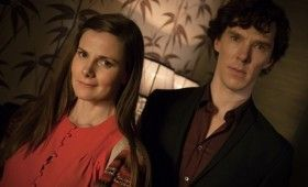 Sherlock season 3 Sherlock and Molly 280x170 Sherlock Season 3 Image Gallery Hints at Romance & Conflict