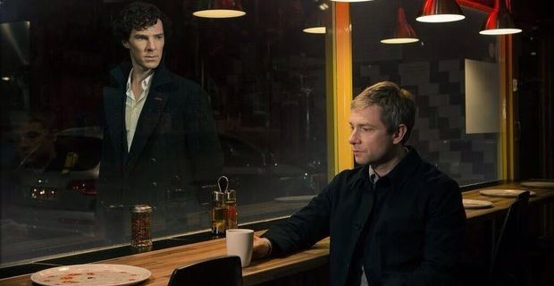 Sherlock the empty hearse promo still Sherlock Season 3 Premiere: The Empty Hearse Review