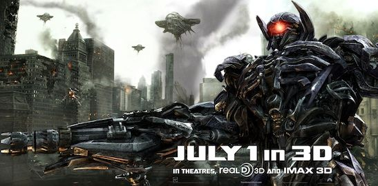 Shockwave Transformers Dark of the Moon Banner Transformers: Dark of the Moon Shockwave Revealed in New Banner