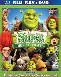 Shrek Forever After DVD Blu ray box art DVD/Blu ray Breakdown: December 7th, 2010