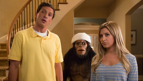 Simon Rex Ashley Tisdale Scary Movie 5 Scary Movie 5 Review