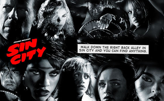 Sin City header Robert Rodriguez Update: Sin City 2, Machete & More