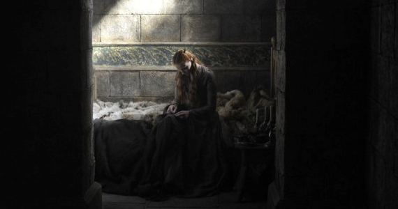Sophie Turner in Game of Thrones Season 4 Episode 8 Game of Thrones: Grudge Match