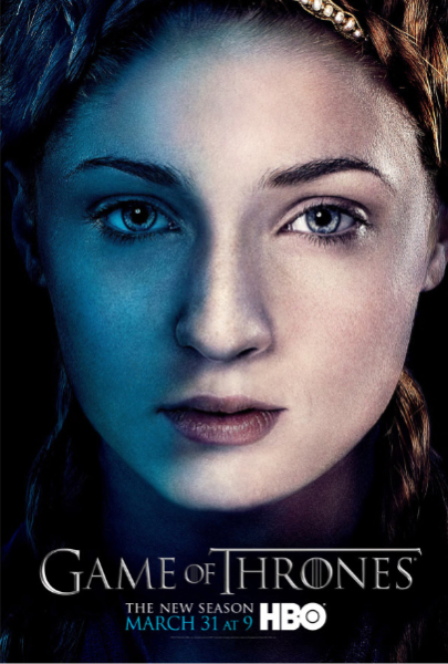 Sophie Turner in Game of Thrones season 3 Sophie Turner in Game of Thrones season 3