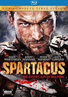 Spartacus Blood and Sand DVD Blu ray box art DVD/Blu ray Breakdown: Sept. 20, 2010