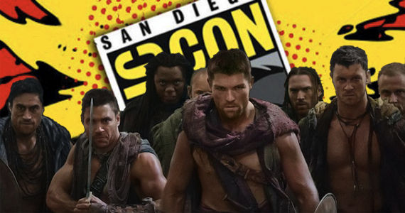Spartacus Panel at 2012 Comic Con Comic Con 2012 Schedule: Friday July 13th