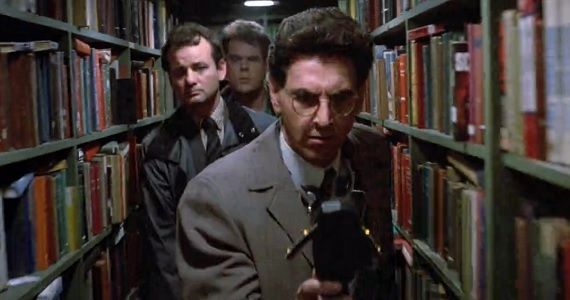 Spengler Stantz and Venkman in Ghostbusters Harold Ramis Passes Away at 69