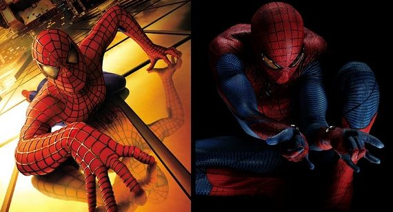 Spider Man 2002 Amazing Spider Man 2012 Movies Why are the Spider Man Movies Starting Over?