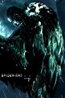 Spider Man 4 fanmade poster Vulture 280x420 John Malkovich Confirms Vulture in Spider Man 4?