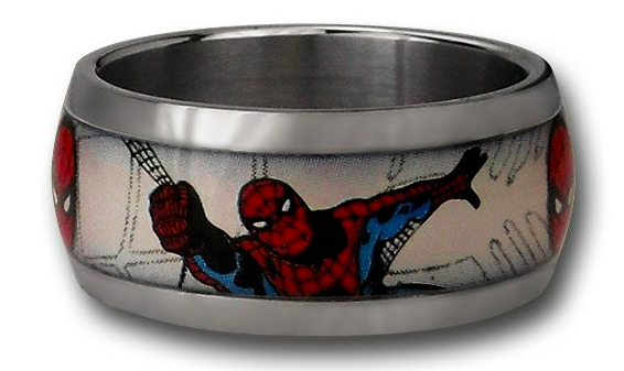 Spider Man Ring SR Geek Picks: Batman vs. Spider Man Tax Report, Nerdist Star Wars, Real Life Iron Man & More!