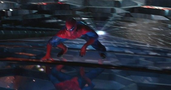 Spider Man Wall Crawling a building in Amazing Spider Man e1336150174932 Spider Man Wall Crawling  a building in Amazing Spider Man