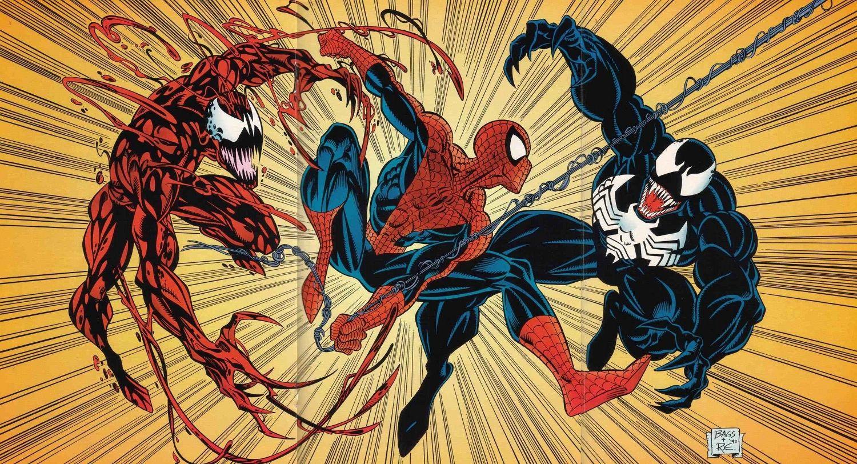 Spiderman vs carnage drawings - photo#18