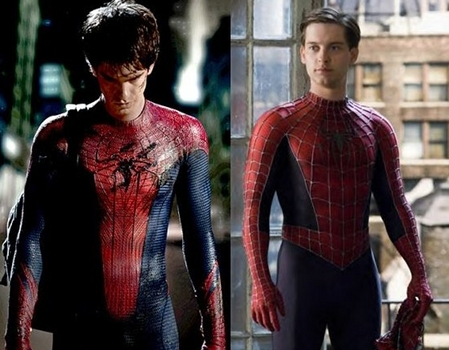 Spiderman Andrew Garfield vs. Tobey Maguire