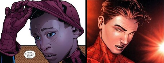 Spiderman Peter Parker Miles Morales Changing Face: Diversity & Change in Comic Books and Superhero Movies