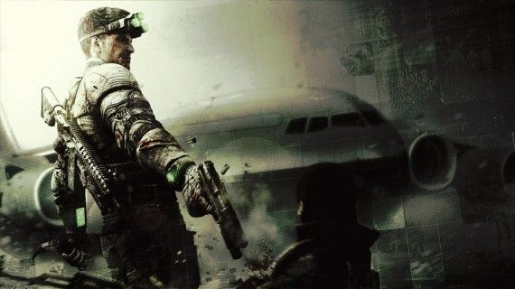 Splinter Cell Blacklist Wallpaper Sam Fisher 570x320 Splinter Cell Blacklist Wallpaper Sam Fisher