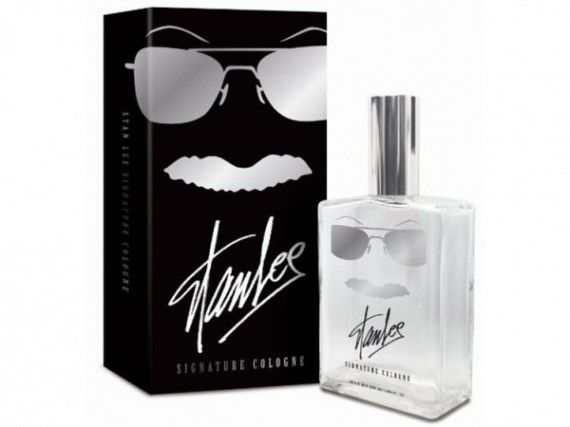 Stan Lee Cologne 570x427 SR Geek Picks: Stan Lee Cologne, Sweded Enders Game Trailer, Star Wars Wedding Photo & More
