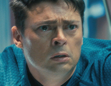 Star Trek 2 Karl Urban McCoy Face