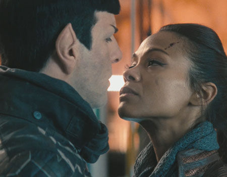 Star Trek 2 Questions Spoke Uhura Relationship