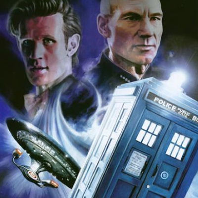 Star Trek Doctor Who Assimilation2 Comic Book Cover