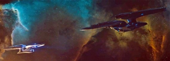 Star Trek Into Darkness Enterprise Dreadnaught 570x205 Star Trek Into Darkness Final Trailer [Updated]